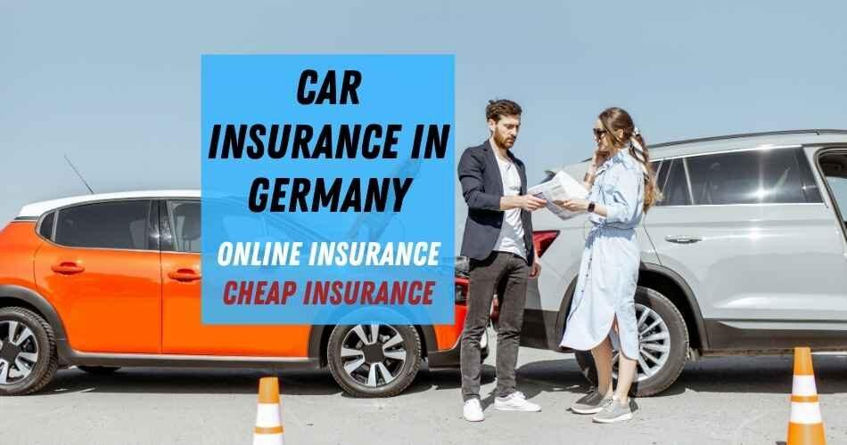 Car insurance in Germany - Online insurance