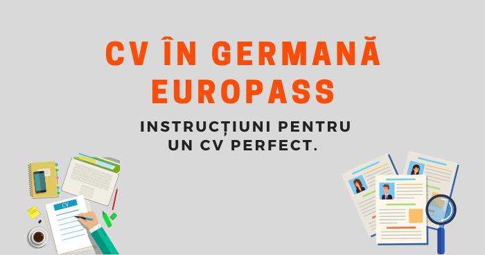 CV_în_germană_Europass_instrucțiuni_pas_cu_pas