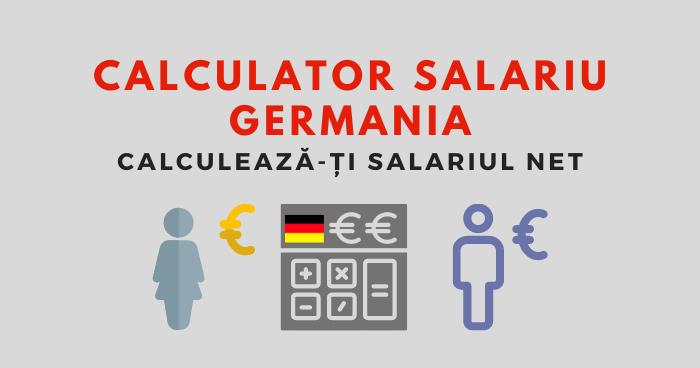 Calculator Salariu Germania