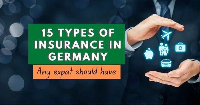 15 types of insurance in Germany