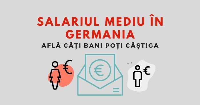 Salariul mediu în Germania